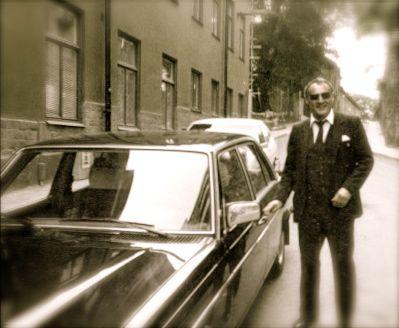 Holmérs chaufför Rolf Dahlgren