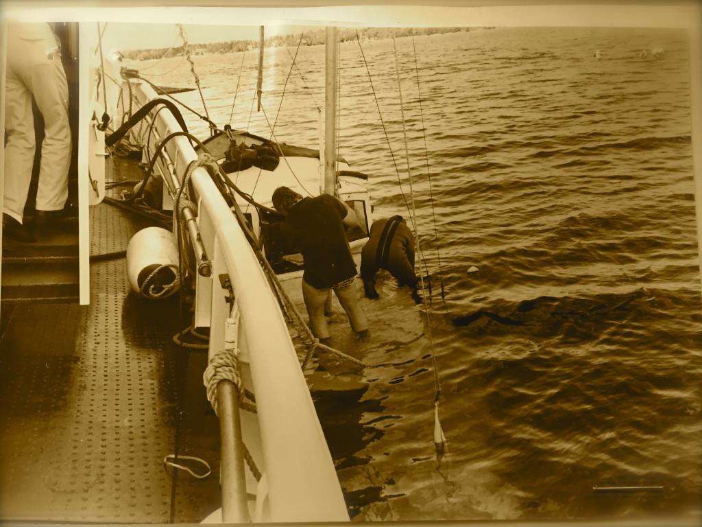 Oden båt bärgning